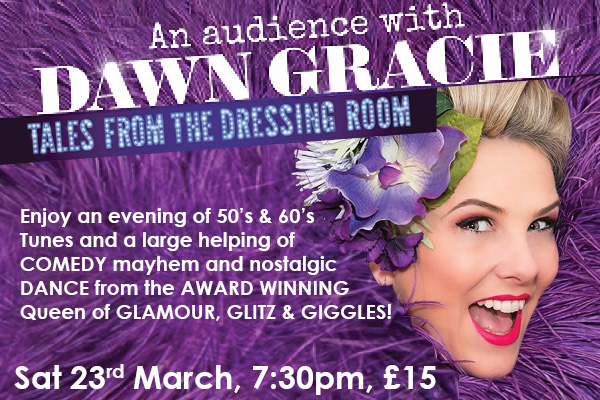 Hayling Island What's On Event An Audience with Dawn Gracie